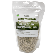 Left Coast Organics Organic Sunflower Seeds - Hulled Raw 1.8kg   625691210455