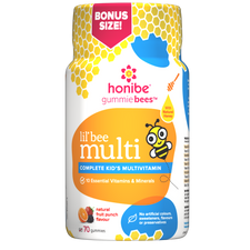 Honibe Honey Gummies Kids Complete Multivitamin 70 Gummies | 663448001468