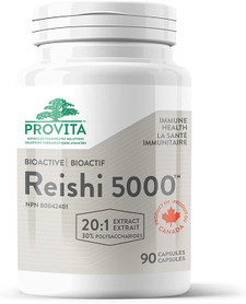 Provita Nutrition & Health Immune Health BioActive Reishi 5000 - 90 Capsules   832927001026