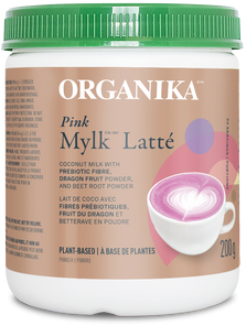 Organika Plant-Based Pink Mylk Latte Powder 200g | 620365039547