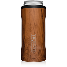 BrüMate Hopsulator Slim 12oz Slim Can - Walnut | 748613304121