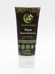 Back to Earth Pure Hand Sanitizer Alcohol Free 60ml | 805427002046