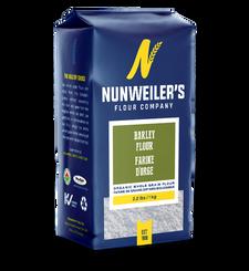 Nunweiler's Flour Company Organic Whole Grain Barley Flour 1kg | 067785000847