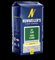 Nunweiler's Flour Company Organic Whole Grain Oat Flour 1kg   067785001745