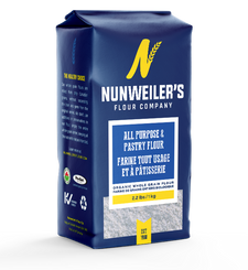 Nunweiler's Flour Company Organic Whole Grain All Purpose & Pastry Flour 1kg | 067785000243