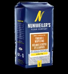 Nunweiler's Flour Company Whole Grain Pancake & Waffle Mix 2.2lbs/ 1Kg | 067785010044