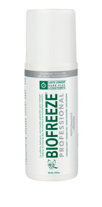 Biofreeze Professional Roll On Pain Relief 3oz - Colourless | 731124000491