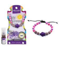 Relaxus Mother Nature Aroma Diffuser Kids Bracelet Kit Turtle Charm | Floral Lavender oil | 628949155195