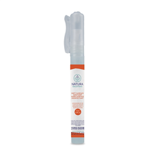 Natura Solutions Soft Surface Sanitizer & Hard Surface Disinfectant Spray Pen 12mL | UPC: 628250612141