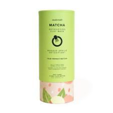 MaskerAide Matcha Detoxifying Clay Mask - Cylinder 12 Uses | 859107001461