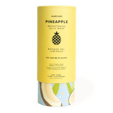 MaskerAide Pineapple Brightening Jelly Mask - Cylinder 12 Uses | 859107001485