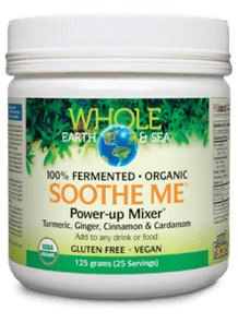 Natural Factors Whole Earth & Sea Soothe Me Power-Up Mixer 125g | 068958355535