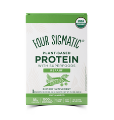 Four Sigmatic Plant-Based Protein with Superfoods Repair - Unflavoured 10 Packets x 32g | 816897021703