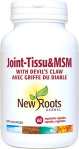 New Roots Herbal Joint-Tissu & MSM with Devil's Claw 60 Vegetable Capsules | 628747102483