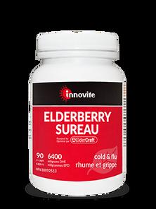 Innovite Health Elderberry 6400mg DHE 90 Veg Capsules | UPC: 626712110112