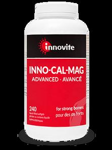 Innovite Health Inno-Cal-Mag - Advanced 240 Liquid-Filled Softgels | 626712110136
