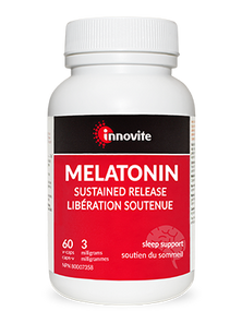 Innovite Health Melatonin  Sustained Release 3mg 60 Veg Capsules   UPC: 626712101103