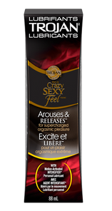 Trojan Arouses & Releases with Motion-Activated Intensifier Personal Lubricant 88mL | 061700972660