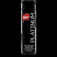 Wet Platinum Hypoallergenic Luxury Silicone Lubricant 93mL | 716222261005
