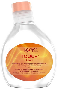 K-Y Touch  2-in-1 Warming Oil and Personal Lubricant 148mL | 067981084757