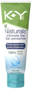 K-Y Naturals Intimate Gel Extra Moisture+ 100% Natural 100mL | 067981958997