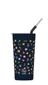 S'ip by S'well Stainless Steel Takeaway Tumbler Wildflower 24 oz | UPC: