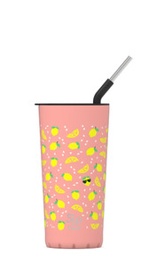 S'ip by S'well  Stainless Steel Takeaway Tumbler Chill Lemon 24 oz   UPC: 843461106610
