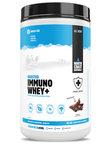 North Coast Naturals Boosted Immuno Whey+ 840 g Chocolate | UPC: 627933102528