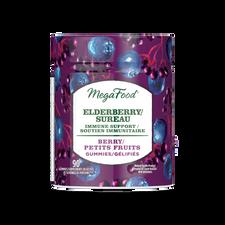 MegaFood Elderberry Immune Support Gummies - Berry 54 Gummies | 051494902172