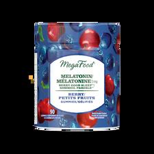 MegaFood Melatonin 3mg Berry Good Sleep Gummies - Berry 54 Gummies | 051494902189