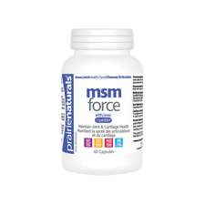 Prairie Naturals MSM Force with OptiMSM 60 Capsules