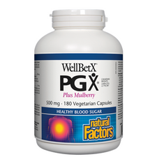 Natural Factors WellBetX PGX Plus Mulberry | 068958035505