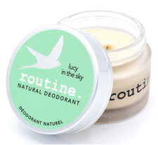 Routine Natural Deodorant - Lucy in the Sky 58g (Vegan, No Beeswax) | 627843241751