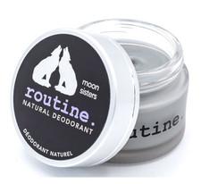 Routine Natural Deodorant - Moon Sisters 58g (Activated Charcoal, Magnesium, Prebiotics) | 628451364283