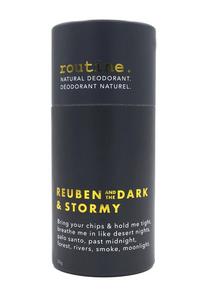 Routine Natural Deodorant - Reuben and the Dark & Stormy 50g Stick | 628451364474