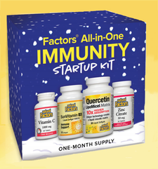 Natural Factors All-in-One Immunity Startup Kit | 627765013108