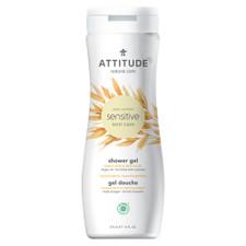 Attitude Sensitive Skin Care Shower Gel Moisturizing & Revitalize - Argan Oil 473mL   626232601220