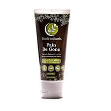 Back to Earth Pain Be Gone Muscle Rub with Arnica - Natural Cooling Effect 60mL | 181063000722 | BTE-1001-001
