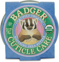 Badger Balm Certified Organic Cuticle Care - Soothing Shea Butter 21g   634084331707