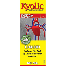 Kyolic Aged Garlic Extract Liquid - Everyday Support 60mL | 772570391511
