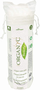 Organ(y)c Beauty 100% Organic Cotton Round Pads -70 Count | 8016867007030