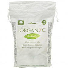 Organ(y)c Beauty 100% Organic Cotton Balls - 100 Count | 8016867007047