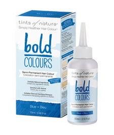 Tints of Nature Bold Colour - Semi-Permanent Hair Colour 70mL - Bold Blue | 704326426819