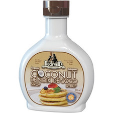 Rockwell's Whole Foods Organic Coconut Syrup Natural Flavour | 852444001170