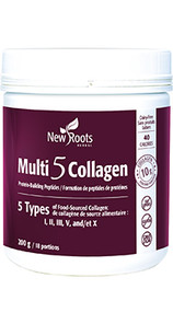 New Roots Herbal Multi 5 Collagen Powder 200g - Natural | 628747025188