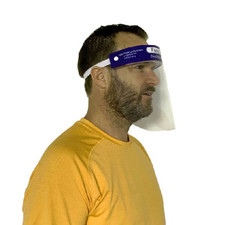 Relaxus Non - Medical Face Shield - Anti-Fog and Scratch-Resistant | Face Shield Use Image | REL-150013