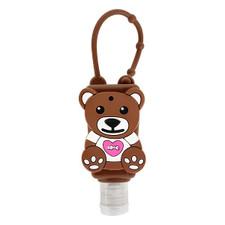Relaxus Attach & Go Animal Hand Sanitizer 30 ml - Bear | REL-150011 | 628949100119