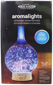 Relaxus Aromalights Ultrasonic Aroma Diffuser Multi-Color | 628949072119