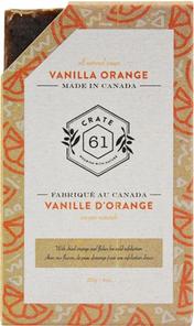 Crate 61 All Natural Soap - Vanilla Orange 110g | 628055492245