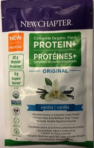 New Chapter Complete Organic Plant Protein+ Vanilla | 727783101884